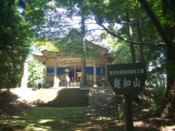 例祭の越知神社